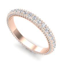 2.50 CTW VS/SI DIAMOND ART DECO ETERNITY MEN'S BAND SIZE 10 18K Gold - REF#-200K2W - 37209