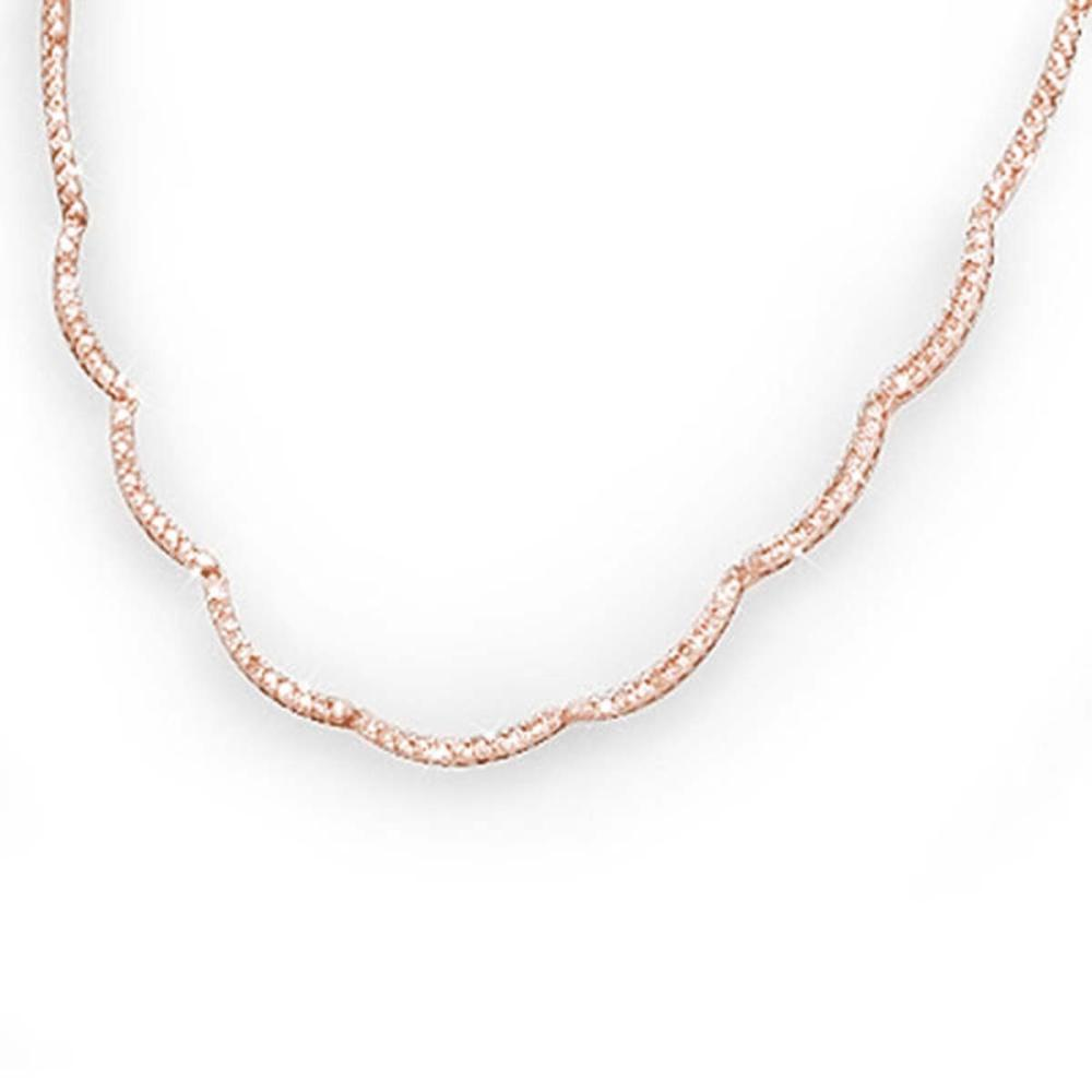Lot 6425: 2.0 ctw VS/SI Diamond Necklace 14K Rose Gold - REF-195Y5X - SKU:13884