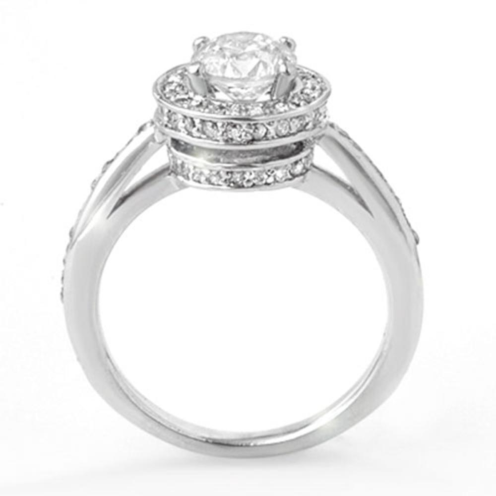 Lot 6411: 1.75 ctw VS/SI Diamond Ring 14K White Gold - REF-429V8Y - SKU:11765