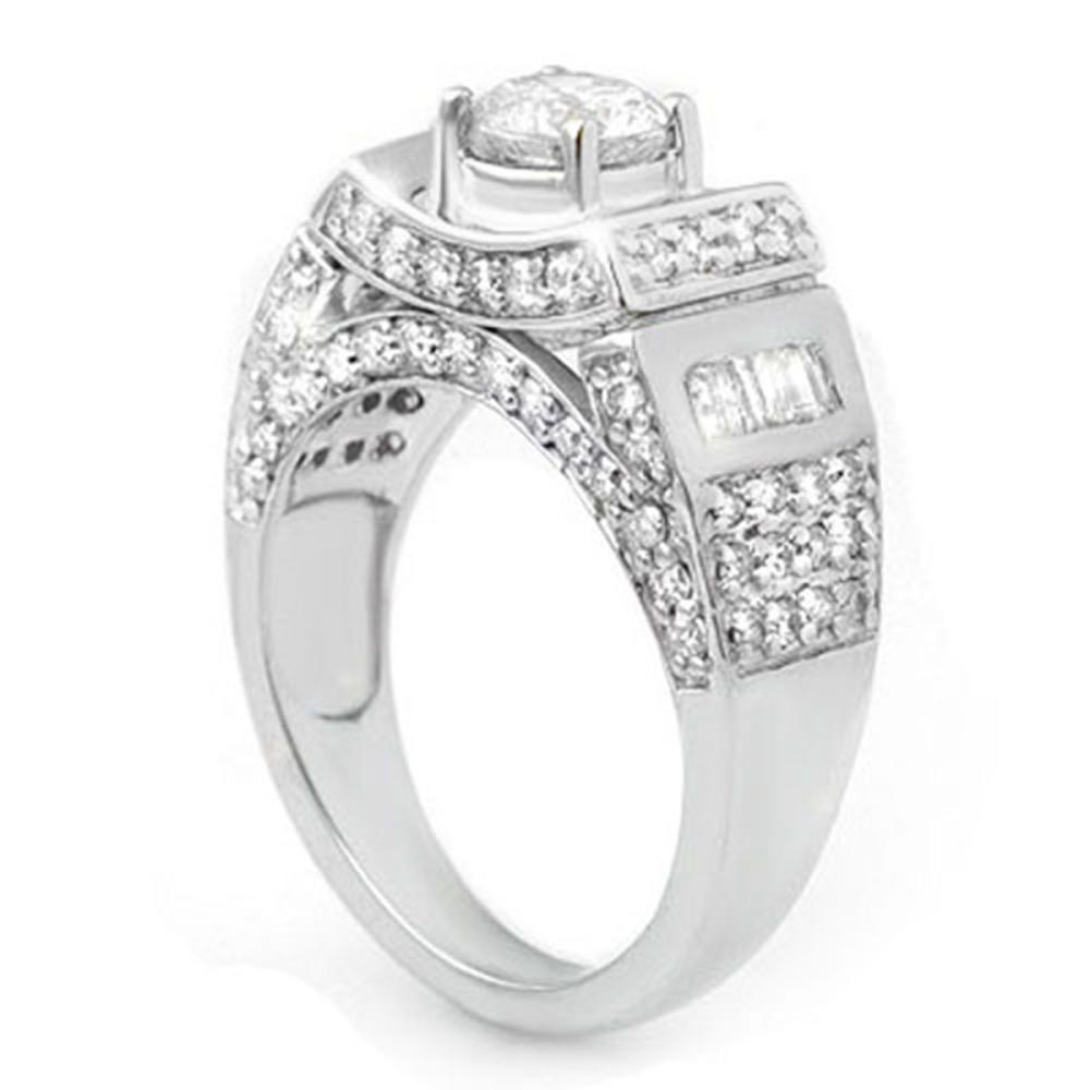 Lot 6584: 2.05 ctw VS/SI Diamond Ring 14K White Gold - REF-300H2M - SKU:10711