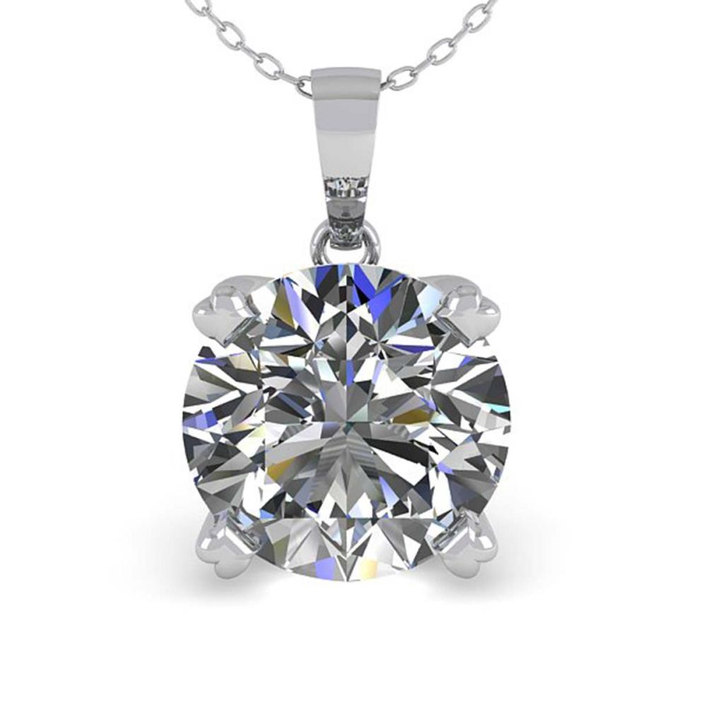 Lot 6593: 1.50 ctw VS/SI Diamond Necklace 18K White Gold - REF-523H2M - SKU:32358