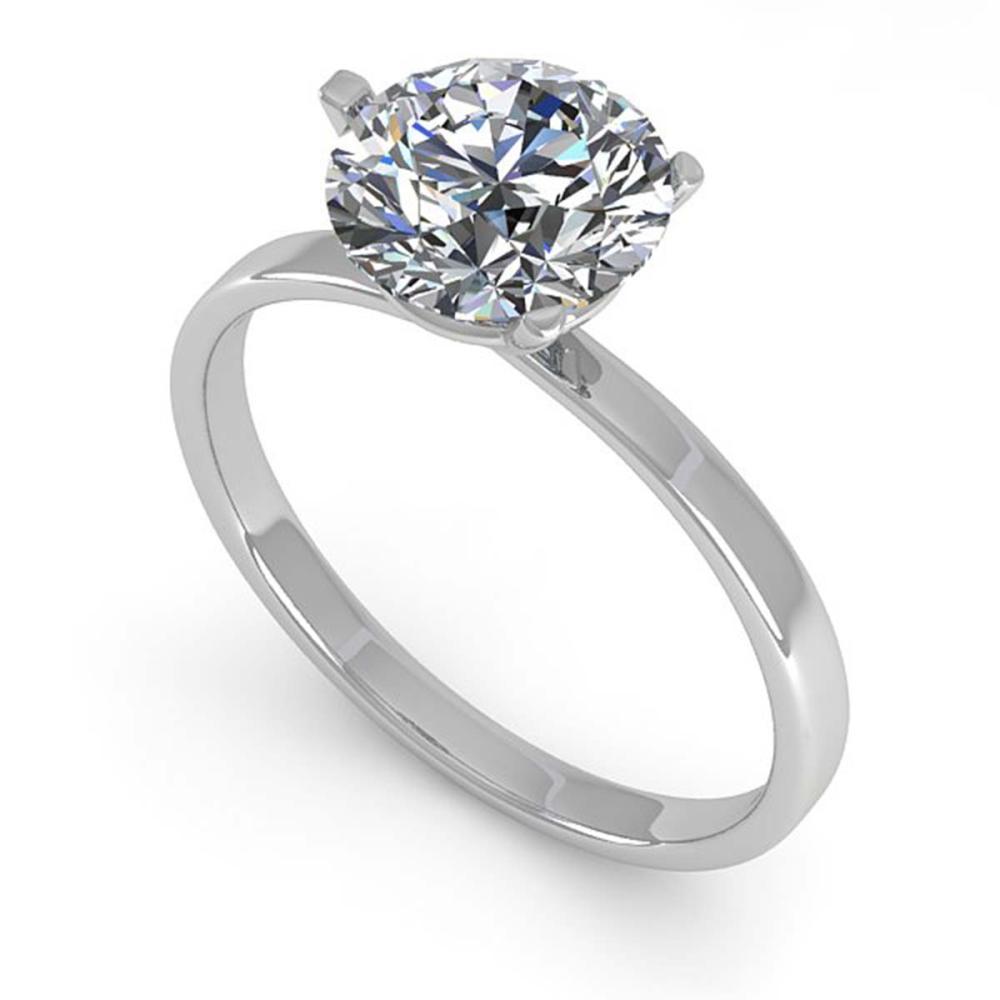 Lot 6653: 1.50 ctw VS/SI Diamond Ring Martini 18K White Gold - REF-521K4W - SKU:32235