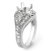Lot 6738: 0.33 ctw VS/SI Diamond Ring 14K White Gold - REF-51F6N - SKU:11356