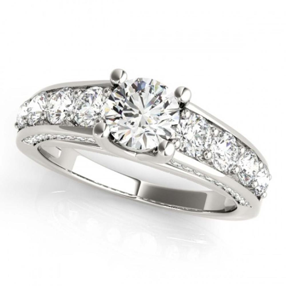 Lot 6966: 2.75 ctw VS/SI Diamond 2pc Set Wedding 14K White Gold - REF-381K8W - SKU:32096