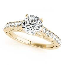 Lot 7091: 1.86 ctw VS/SI Diamond 2pc Wedding Set 14K Yellow Gold - REF-384M2F - SKU:31765