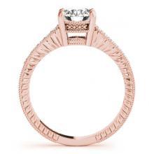 Lot 6041: 2.11 ctw VS/SI Diamond 2pc Wedding Set 14K Rose Gold - REF-518N6A - SKU:31545