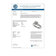 Lot 6052: 2 ctw H-SI/I Diamond Ring 10K White Gold - REF-630Y2X - SKU:33029