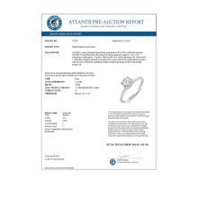 Lot 6099: 1.0 ctw VS/SI Diamond Solitaire Ring 14K White Gold - REF-271Y9X - SKU:12274
