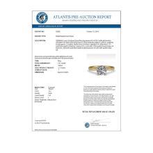Lot 6168: 1.01 ctw VS/SI Diamond Ring 14K Yellow Gold - REF-274V8Y - SKU:30605