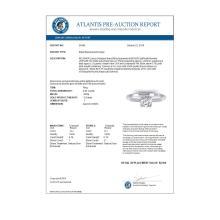 Lot 6176: 0.93 ctw VS/SI Diamond Art Deco Ring 14K White Gold - REF-171M3F - SKU:30456