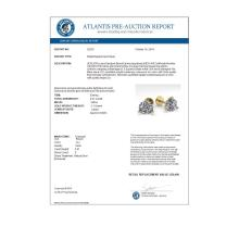 Lot 6212: 2.01 ctw VS/SI Diamond Stud Earrings 18K Yellow Gold - REF-570F2N - SKU:32218
