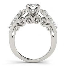 Lot 6514: 2.26 ctw VS/SI Diamond 2pc Wedding Set 14K White Gold - REF-417H5M - SKU:31907