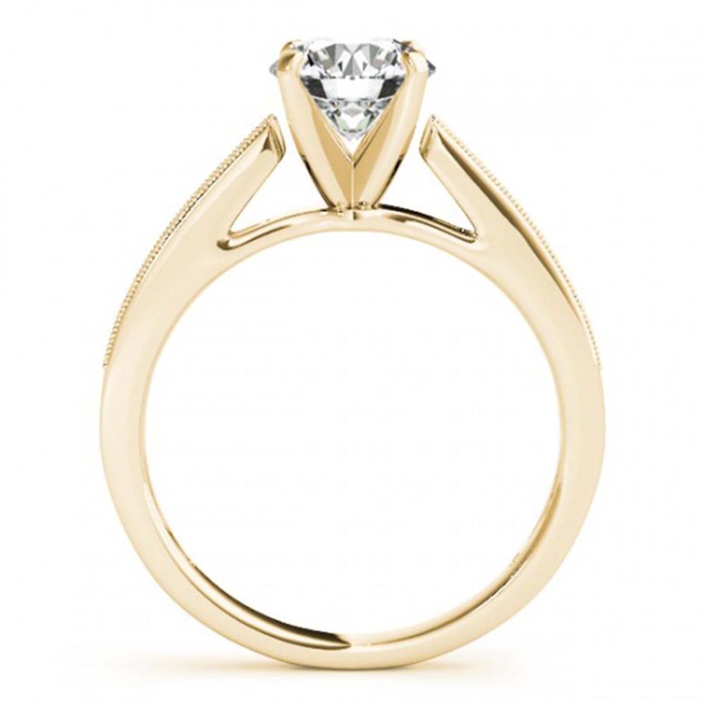 Lot 6577: 0.55 ctw VS/SI Diamond 2pc Wedding Set 14K Yellow Gold - REF-57V5Y - SKU:31735
