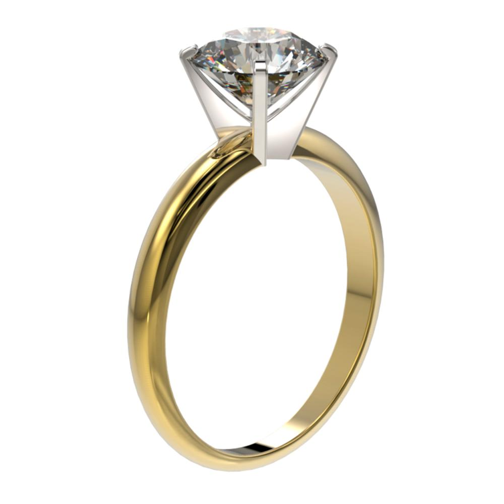 Lot 6629: 2.03 ctw H-SI/I Diamond Ring 10K Yellow Gold - REF-615K2W - SKU:36451