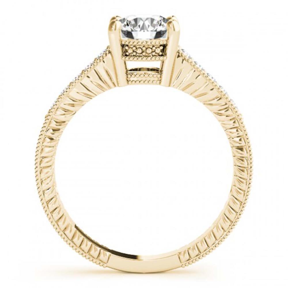 Lot 6675: 1.47 ctw VS/SI Diamond 2pc Wedding Set 14K Yellow Gold - REF-294M2F - SKU:31540