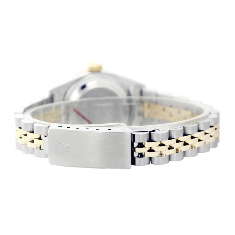 Lot 6904: Rolex Men's Stainless Steel, QuickSet, Diam Dial & Diam/Sapphire Bezel - REF-593F7M