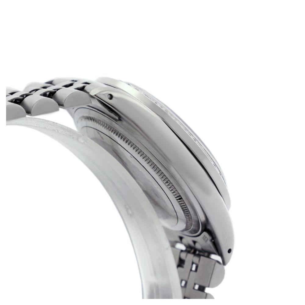 Lot 6457: Rolex Ladies Stainless Steel, Diam Dial & Diam/Emerald Bezel, Sapphire Crystal - REF-431F3M