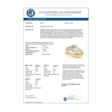 Lot 6460: 1.57 ctw VS/SI Diamond 2pc Wedding Set 14K Yellow Gold - REF-369W5H - SKU:31564
