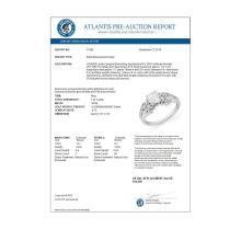 Lot 6571: 1.42 ctw VS/SI Diamond Ring 14K White Gold - REF-276N9A - SKU:11560