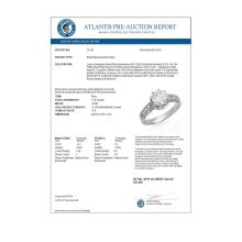 Lot 6777: 1.75 ctw VS/SI Diamond Solitaire Ring 18K White Gold - REF-568F7N - SKU:14116