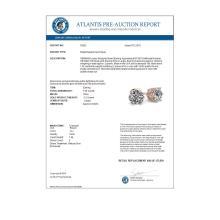Lot 6924: 1.05 ctw VS/SI Diamond Stud Earrings 18K Rose Gold - REF-147A2V - SKU:35822