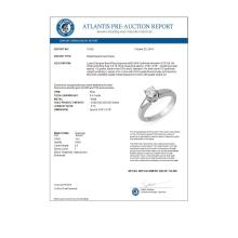 Lot 6981: 0.50 ctw VS/SI Diamond Ring 14K White Gold - REF-79M3F - SKU:10129