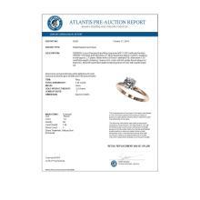 Lot 7012: 1.26 ctw H-SI/I Diamond Ring 10K Rose Gold - REF-240A2V - SKU:36421