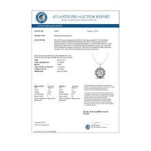 Lot 7039: 1.20 ctw VS/SI Diamond Art Deco Stud Necklace 18K White Gold - REF-220Y2X - SKU:36998