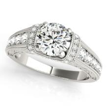 1.75 CTW Certified VS/SI Diamond Solitaire Bridal Ring 18K White Gold - REF#-521W5G