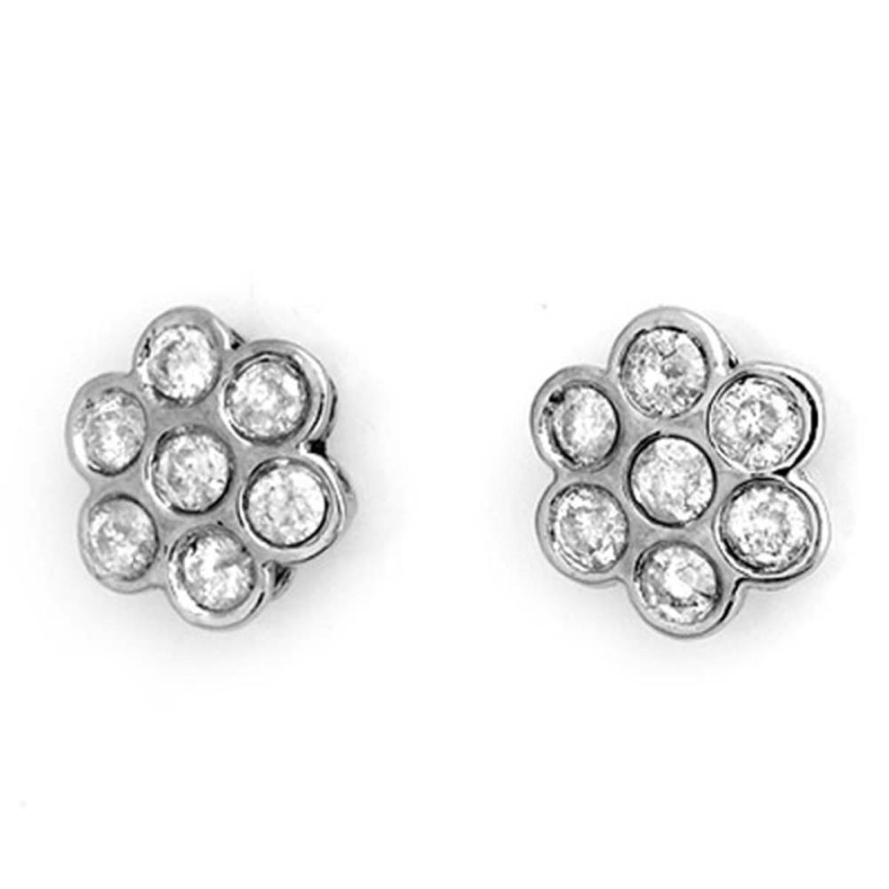 1.80 ctw VS/SI Diamond Earrings 18K White Gold - REF-132V7Y - SKU:11278