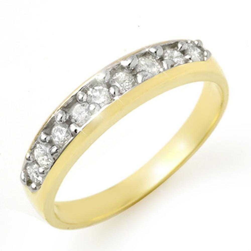 0.33 ctw VS/SI Diamond Ring 10K Yellow Gold - REF-37Y8X - SKU:12772