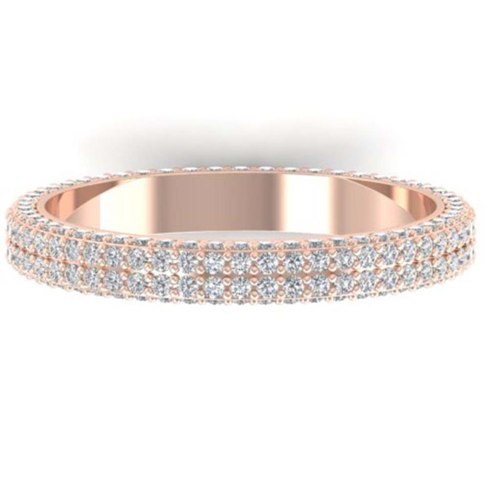 1.75 ctw VS/SI Diamond Eternity Ring 14K Rose Gold - REF-130R9K - SKU:30268