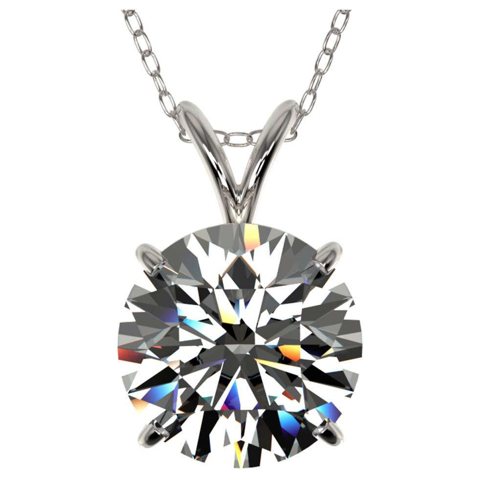 2.50 ctw H-SI/I Diamond Necklace 10K White Gold - REF-870V2Y - SKU:33240