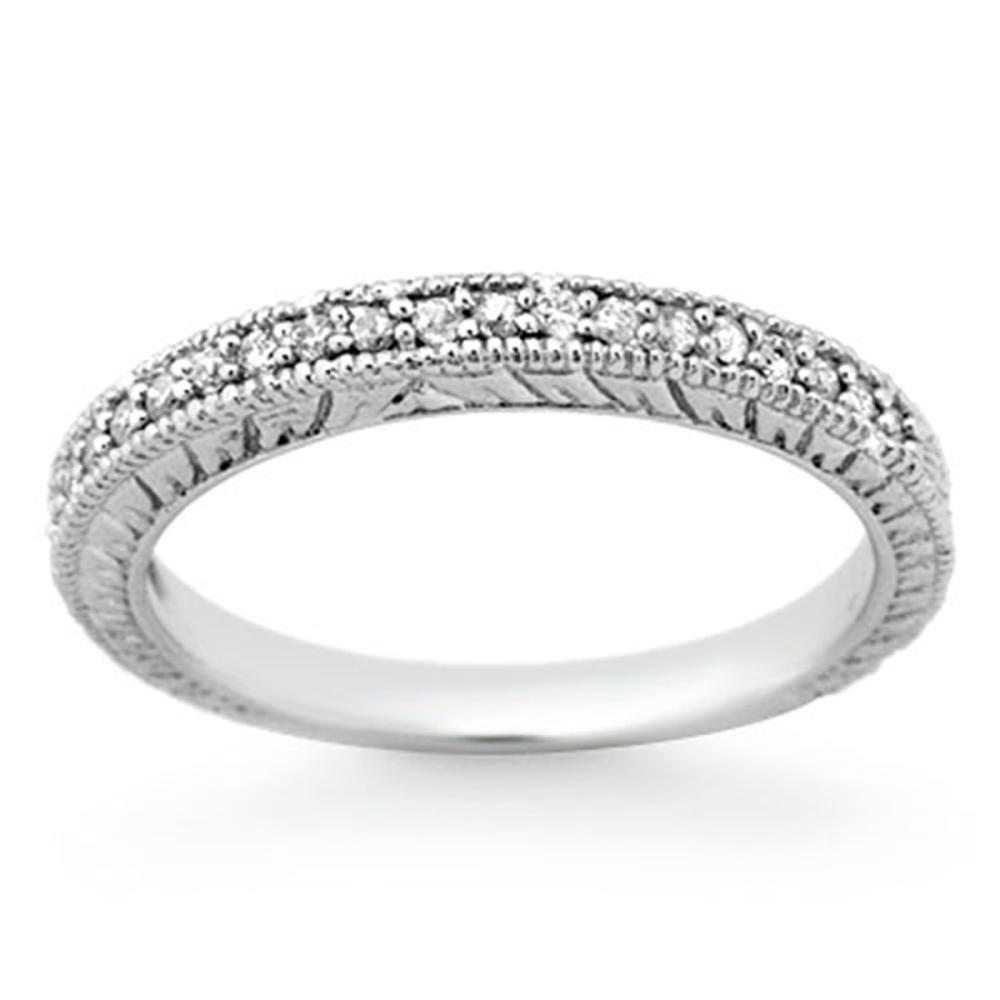 0.20 ctw VS/SI Diamond Ring 18K White Gold - REF-41W8H - SKU:13654