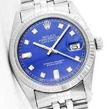Rolex Ladies Stainless Steel, Diamond Dial with Fluted Bezel, Sapphire Crystal - REF-320T6K