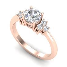 1 CTW VS/SI Diamond Ring Size 7 Gold - REF-227A3N - 36936