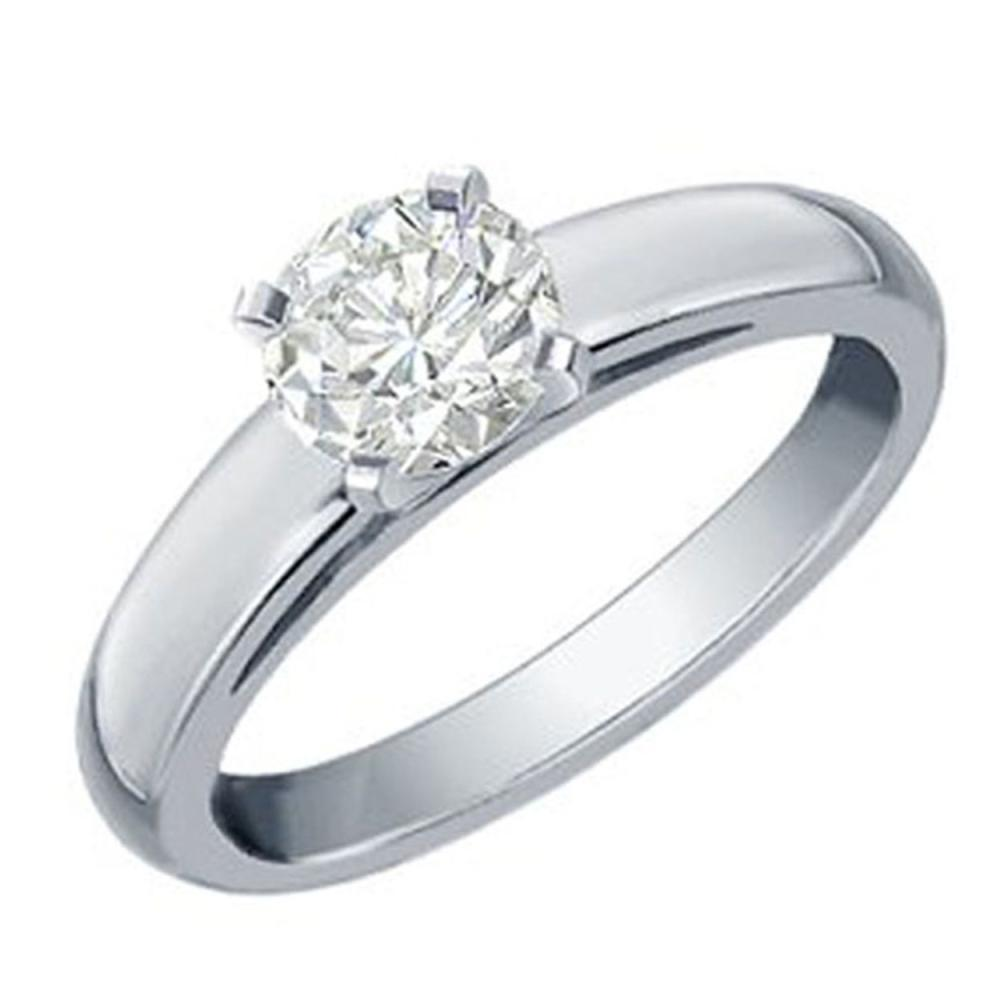 0.25 ctw VS/SI Diamond Solitaire Ring 14K White Gold - REF-40V5Y - SKU:11954