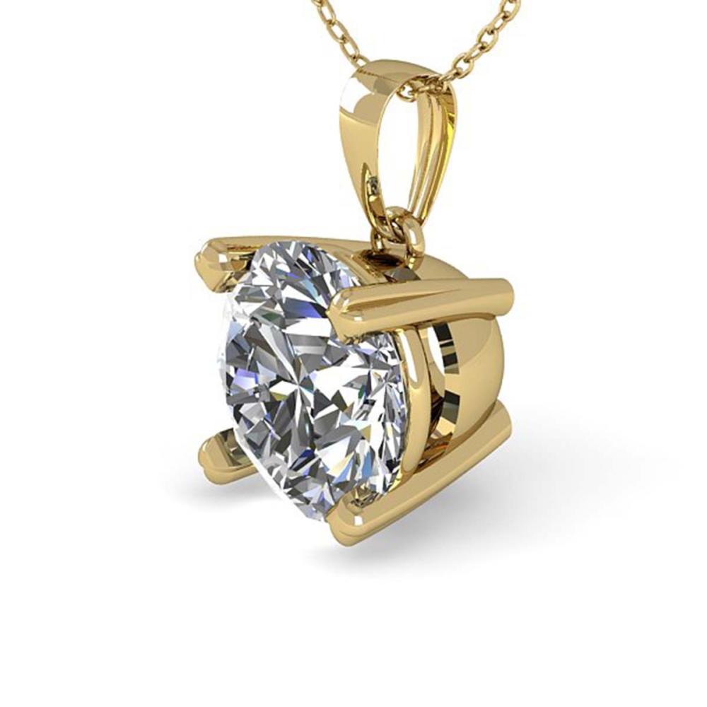 1 ctw VS/SI Diamond Necklace 14K Yellow Gold - REF-273V3Y - SKU:38417