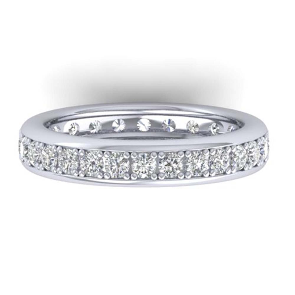 1.33 ctw VS/SI Diamond Eternity Band 14K White Gold - REF-98F5N - SKU:30327