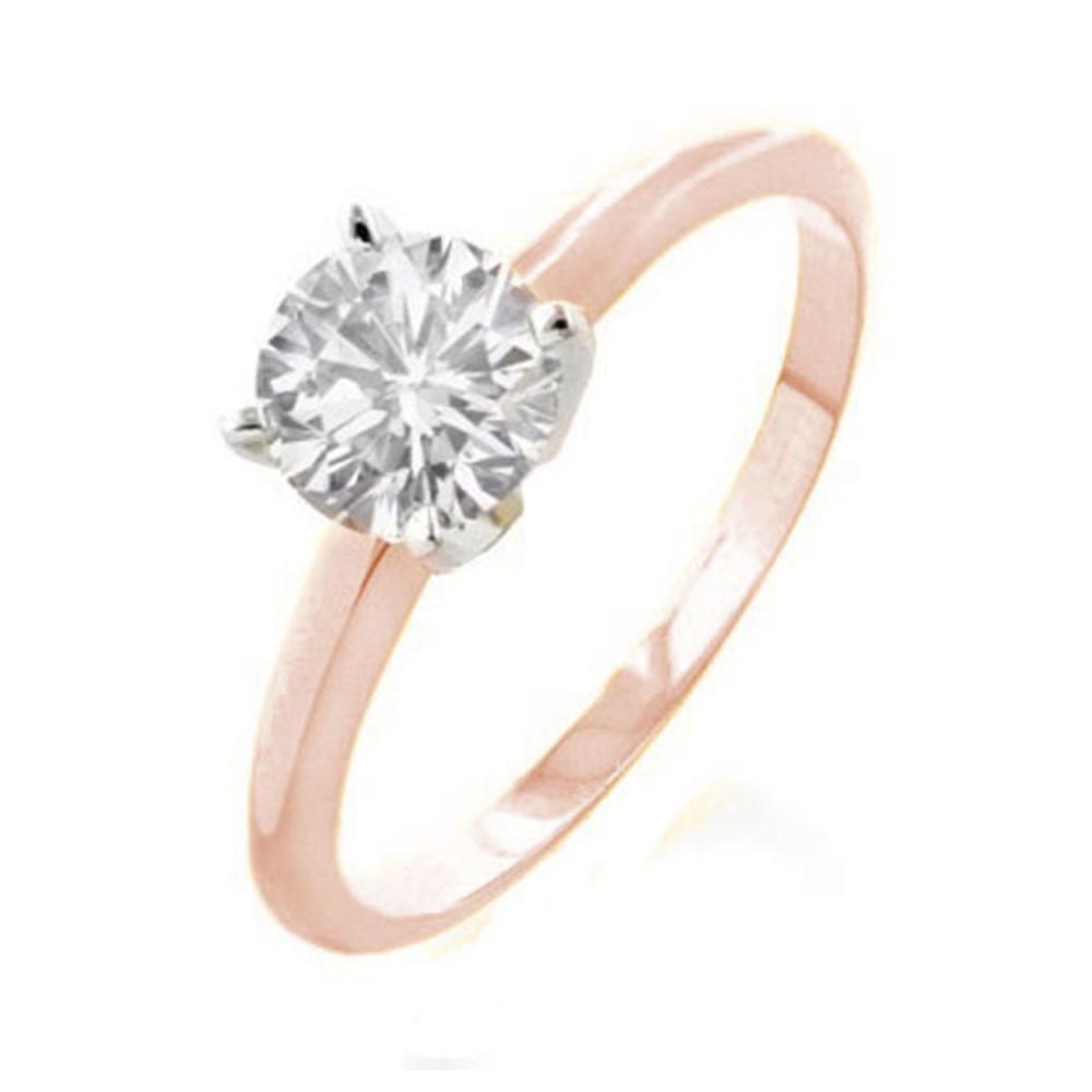 2.0 ctw VS/SI Diamond Solitaire Ring 18K 2-Tone Gold - REF-924A3V - SKU:13541