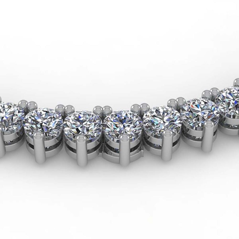 25 ctw 3 prong vs si diamond necklace 14k white gold ref 2. Black Bedroom Furniture Sets. Home Design Ideas