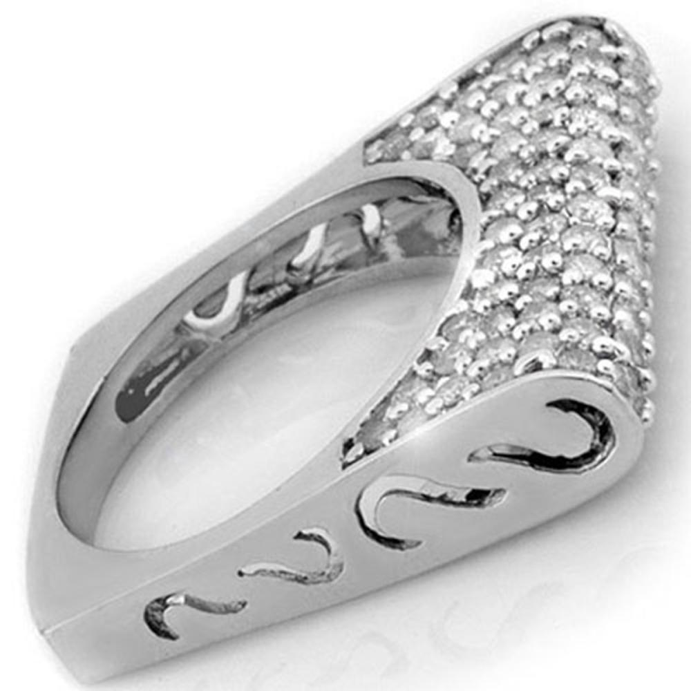 2.25 ctw VS/SI Diamond Ring 18K White Gold - REF-167P8X - SKU:11084