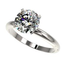 Lot 6020: 2.50 ctw H-SI/I Diamond Ring 10K White Gold - REF-870W2H - SKU:32942