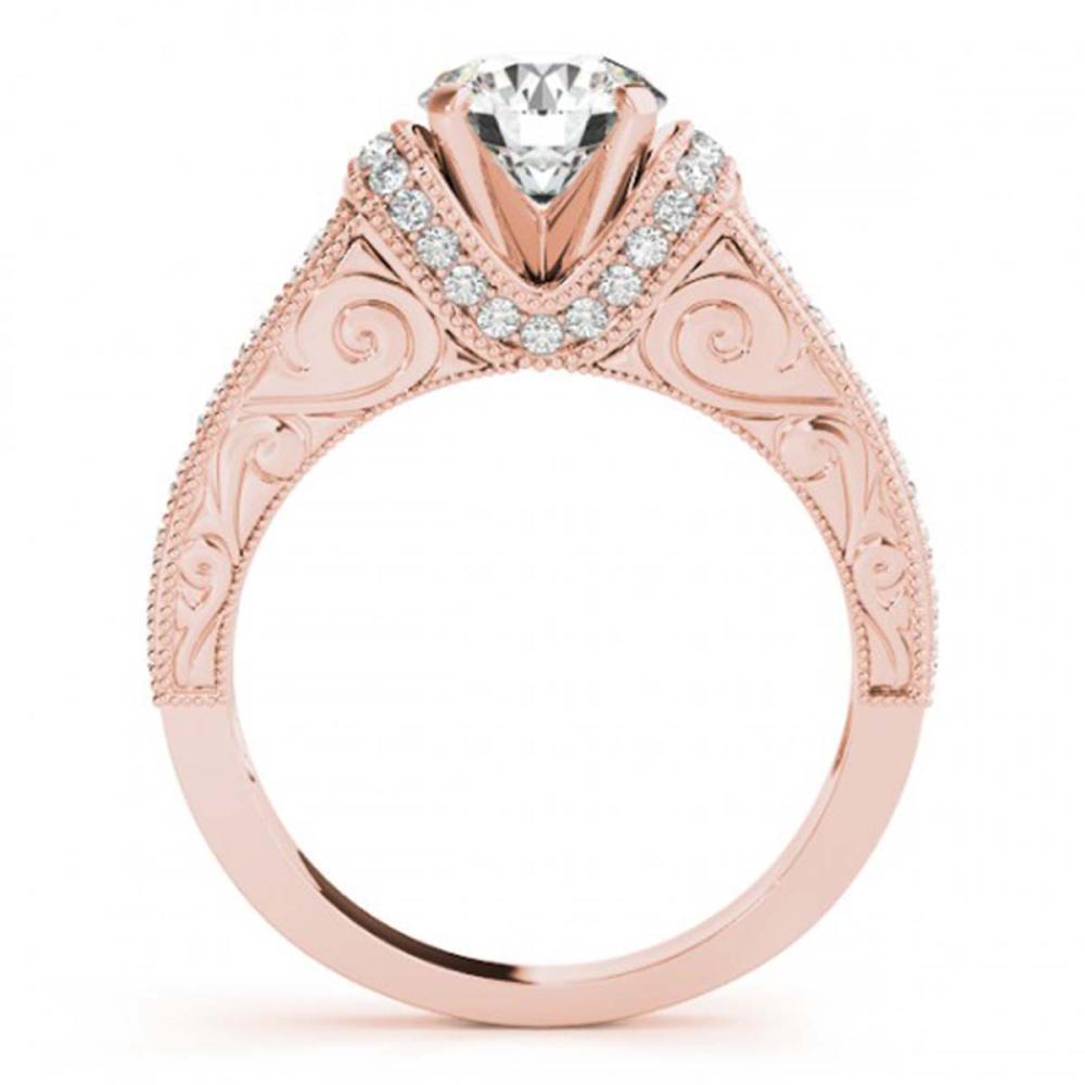 Lot 6015: 2.11 ctw VS/SI Diamond 2pc Wedding Set 14K Rose Gold - REF-401H6M - SKU:31554
