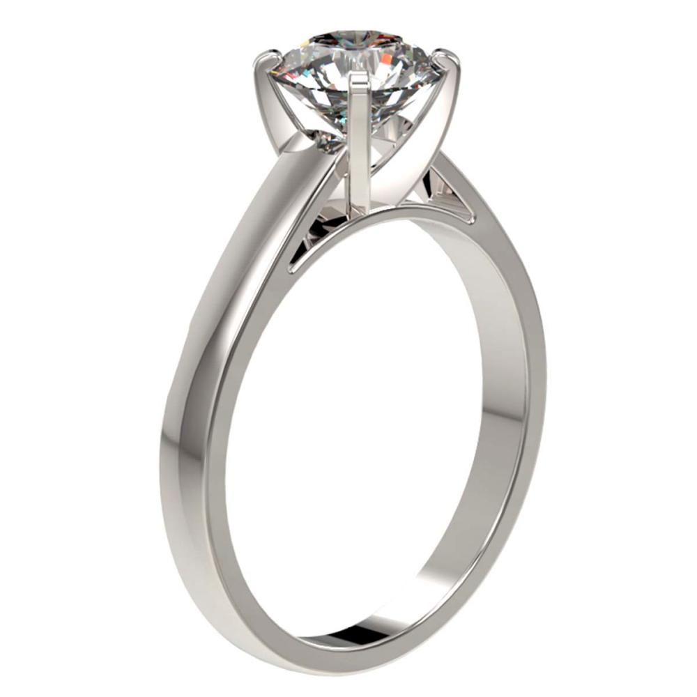 Lot 6169: 1.50 ctw H-SI/I Diamond Ring 10K White Gold - REF-339A2V - SKU:33019