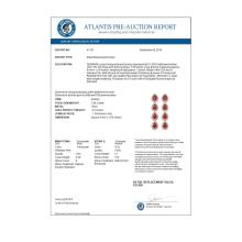 Lot 6116: 7.88 ctw Tourmaline & Diamond Halo Earrings 10K Rose Gold - REF-200H2M - SKU:41157