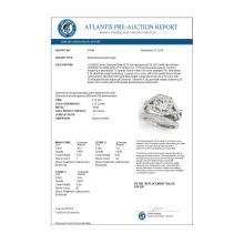 Lot 6161: 1.75 ctw VS/SI Diamond 2pc Wedding Set Halo 14K White Gold - REF-194M7F - SKU:30648