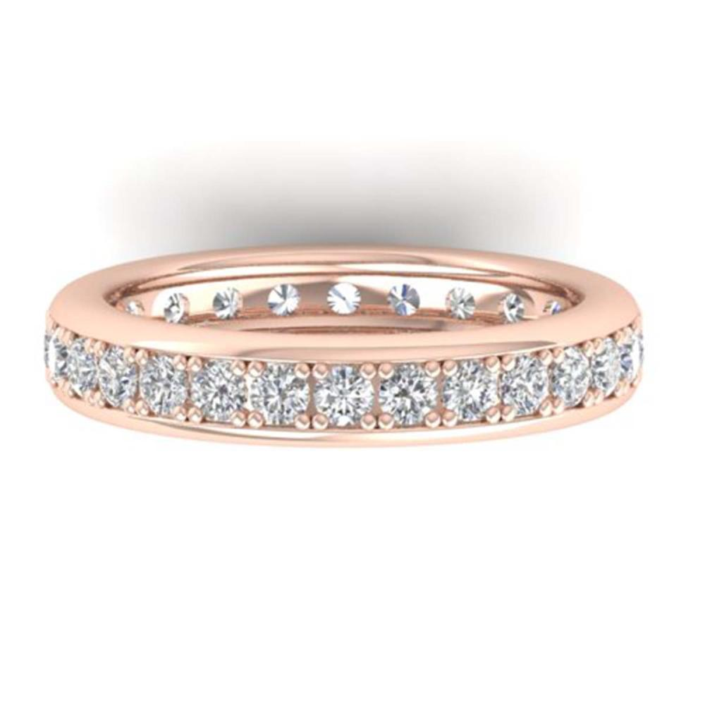1.33 CTW VS/SI Diamond Eternity Band Ladies 14K Size 7 Gold - REF-98N5A - SKU:30328