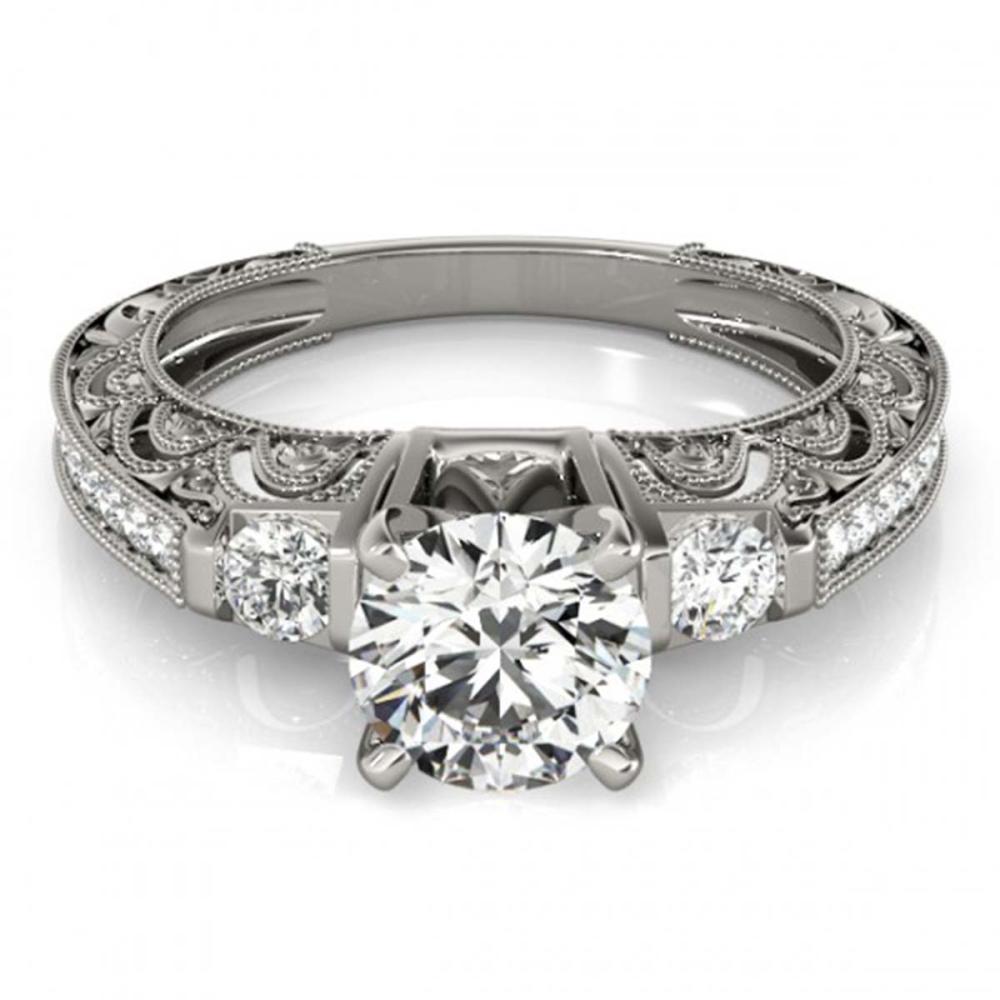 1.63 CTW VS/SI Diamond Ring 18K White Gold - REF-518N2A - SKU:27285