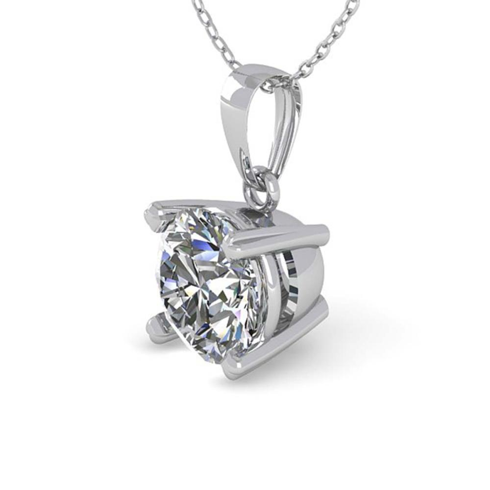 0.50 ctw VS/SI Diamond Necklace 14K White Gold - REF-68K3W - SKU:38404